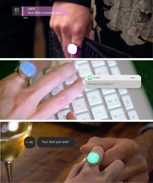 """画像: """"本物のジュエリー""""として身につけられるスマートリング『Blinq Smart Jewelry』がとってもおしゃれ♡"""