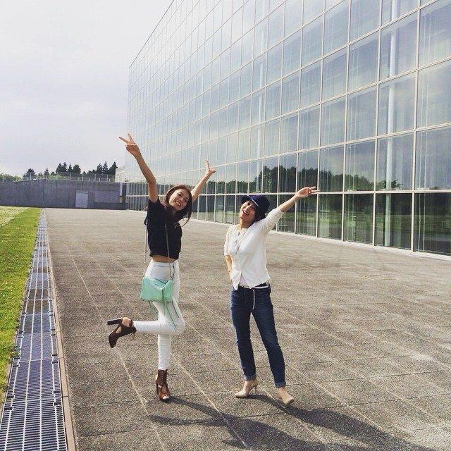 画像: よくここでお昼寝してた♡笑 大好きな学校♡  ちらっとだけど教授にも会えたょん♪♪ #公立はこだて未来大学 #love #母校 instagram.com