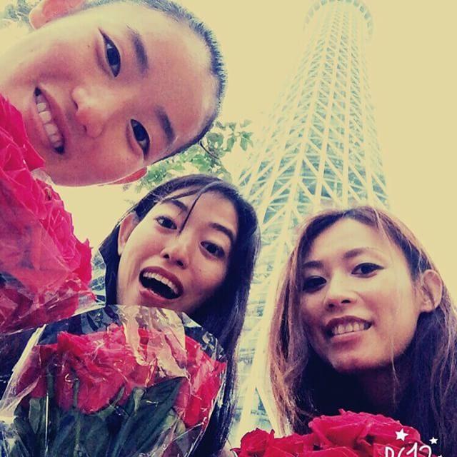 画像: 姉妹そろってスカイツリーに行ってきたょん♡♡ #mysisters #skytreetower #anniversary #happybirthday instagram.com