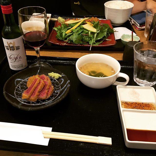 画像: 初めて牛カツ食べたー!! #牛カツ #マシェバラお疲れ会 #shibuya instagram.com