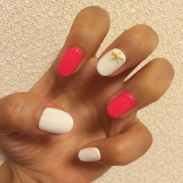 画像: #newnail #summernail #starfish instagram.com