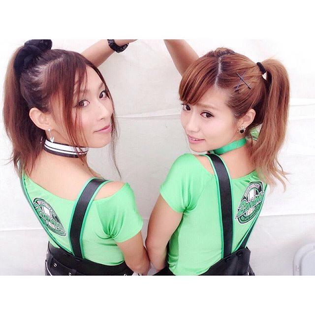 画像: お気に入りのバックショット❤️ #2りんかんGAL #2りんかん祭り #るーりー #のんちゃん instagram.com