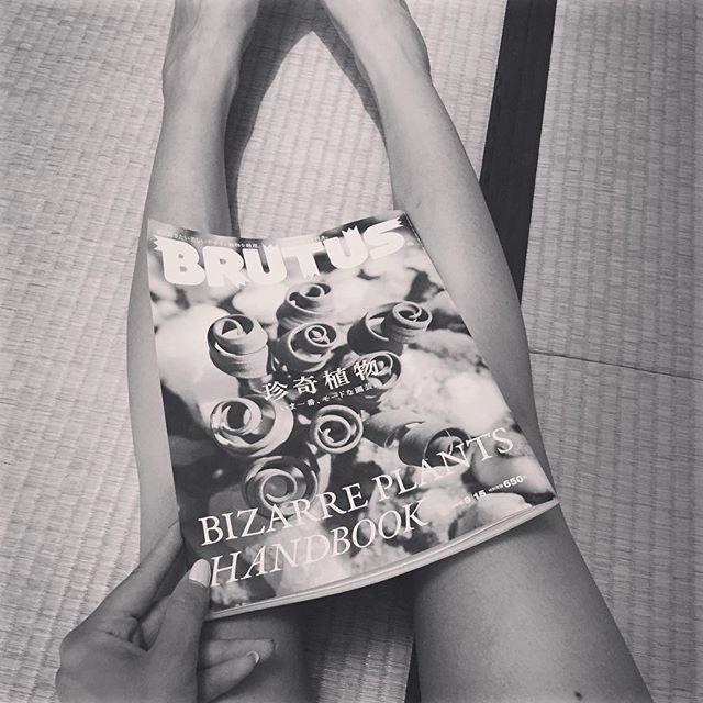 画像: BRUTUS 9月15日号 美女数珠つなぎコーナーに掲載していただきました♡  check out♡ #BRUTUS #美女数珠つなぎ #雑誌 #thanks instagram.com