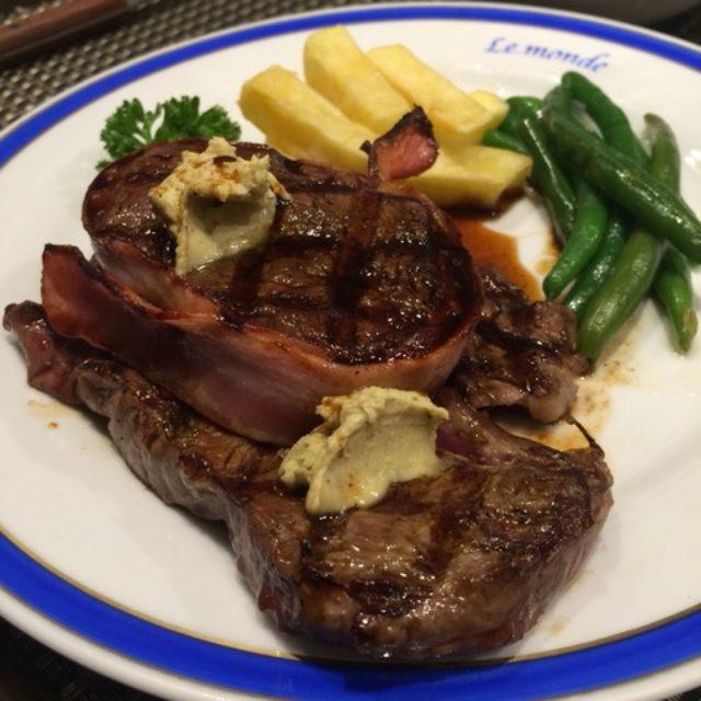 画像: 【肉】新宿でステーキランチ