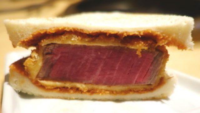画像: 焼肉 芝浦 赤坂別邸 シャトーブリアンカツサンドを是非!