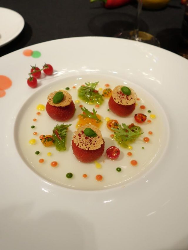 画像: ロブション氏★キーワードは「健康」野菜だけのガラディナー@ 恵比寿 LA TABLE