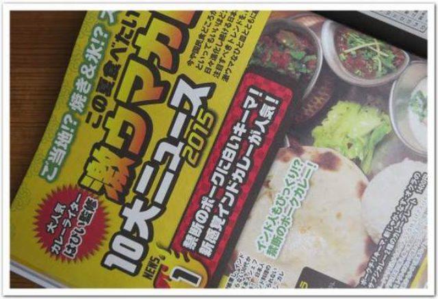 画像: カレーですよ雑誌掲載(集英社 週刊プレイボーイno.29)「この夏食べたい激ウマカレー10大ニュース2015」