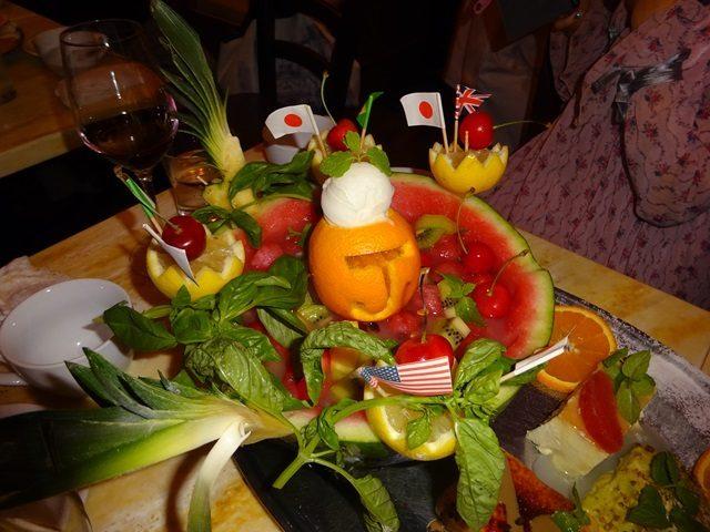画像: 築地トゥットベーネで豪華メンバーで楽しい食事会♪