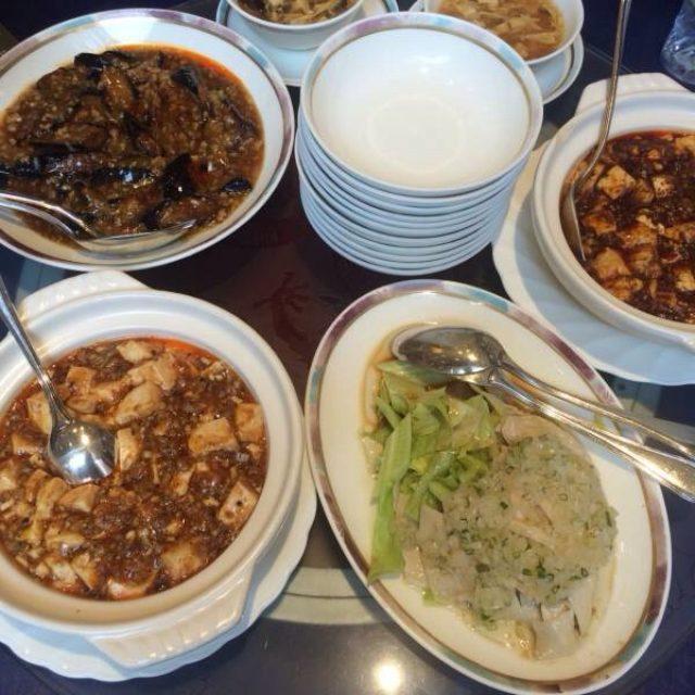 画像: 【ご飯】麻婆豆腐の食べ比べ@桃花源(銀座)