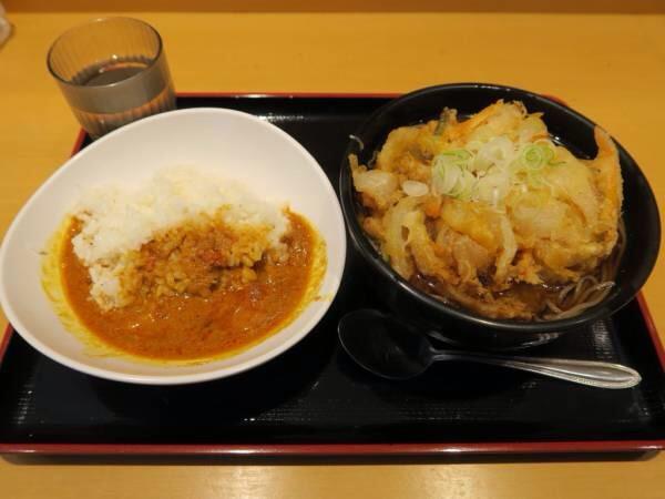 画像: 「よもだそば」(日本橋/立ち食い蕎麦&インドカレー)