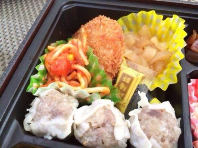 画像: [今日のナポリタン]崎陽軒の洋食弁当(弁当)