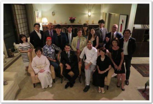 画像: カレーですよ2167(目黒 コロンビア大使館)コロンビア全権公使がもてなしてくださいました。