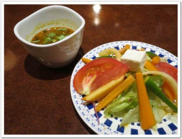 画像: カレーですよ2169(上野稲荷町 ハリマケバブビリヤニ)もてなし。