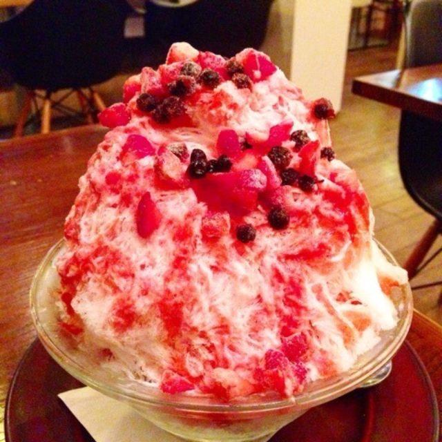 画像: こんなに美味しいかき氷が...