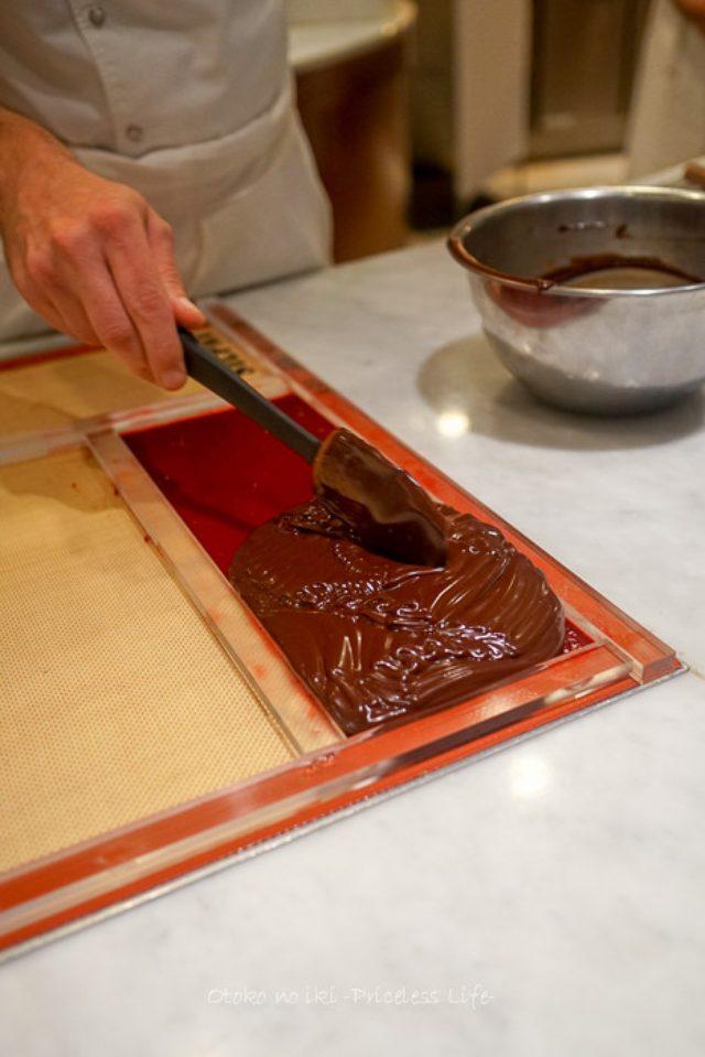 画像: アンリ・ルルーの新作ショコラ『モデナ』
