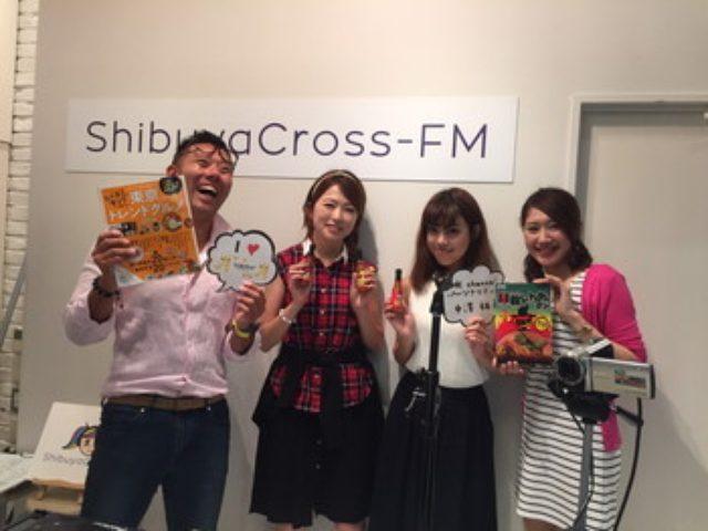 画像: MK CAFEさんとインターネットラジオshibuya coross FM MKチャンネルに出演