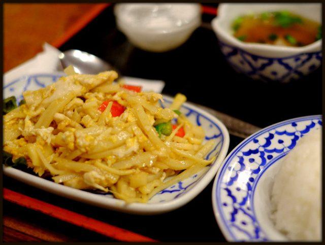画像: 「新宿 バンタイの竹の子と鶏肉の玉子炒めランチ」