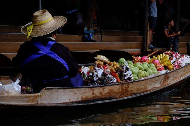 画像: 「タイ ダムヌンサドゥアック水上マーケット!」