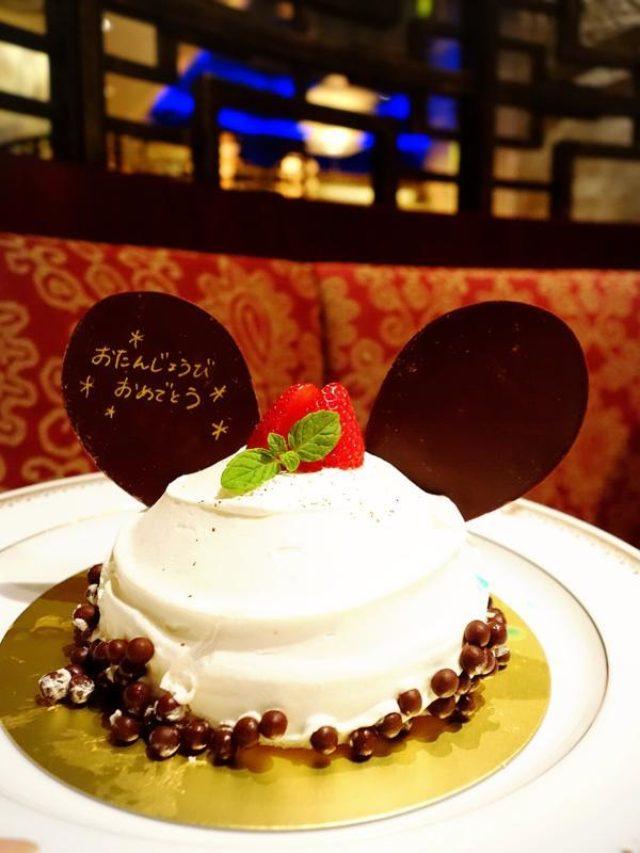 画像: ミッキーケーキで誕生日お祝い★東京ディズニーシー★クリスマスイルミネーションもスタート