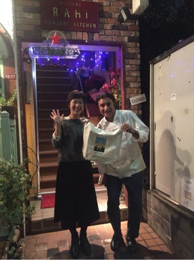 画像: カレーXmas!西荻窪のラヒでカレー女子会