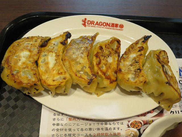 画像: 【横浜】「DORAGON酒家 離」では横浜駅周辺でNo.1の餃子ランチが650円!
