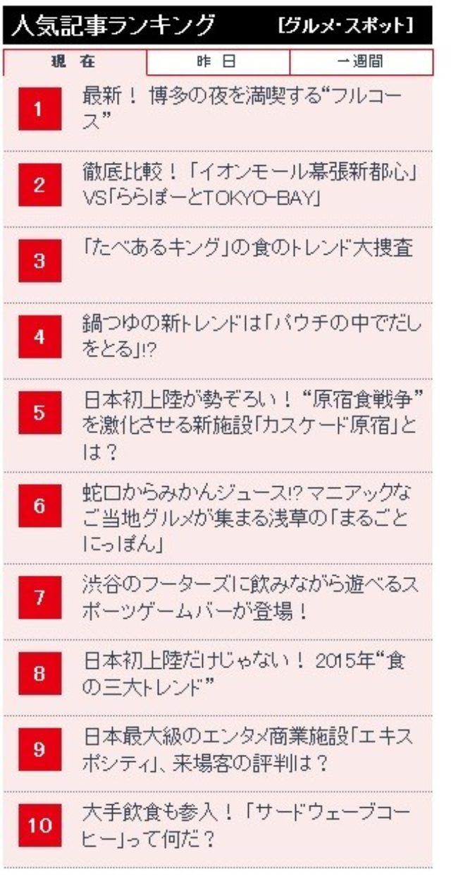 画像: 【日経トレンディネット】食のトレンド大捜査 博多編に出ました!