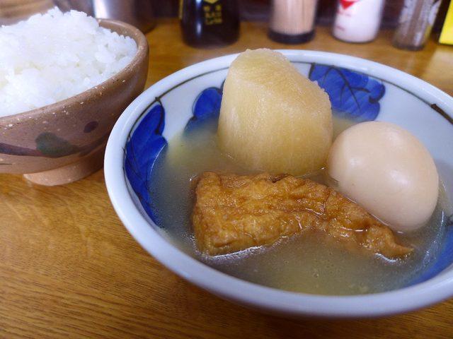 画像1: 本日のランチはJR環状線玉駅前にある、関東煮のお店「きくや」に行きました。私の大好きな昔ながらの関東煮のお店ですが、前回行ったのが2010年2月なので、何と実に6年ぶりに行ってきました!こちらのお店は夜に行って、ビールや... emunoranchi.com