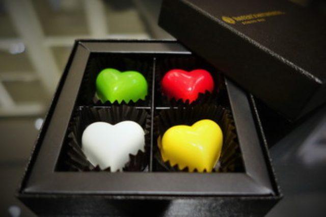 画像: ホテル インターコンチネンタル 東京ベイのカラフル ハートフル ベジフル ショコラ