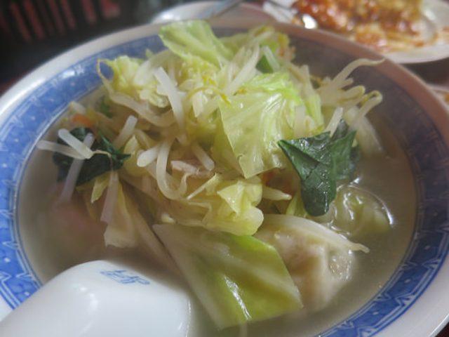 画像: 【八重洲】夜の「博雅」で野菜たっぷり水餃子と特製棒餃子