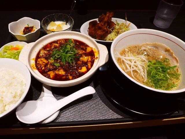 画像1: 本日のランチは長堀橋にある中華料理のお店「四川料理 芙蓉苑」に行きました。先日このお店の前を通りかかった時に、「あれ?こんなところにこんなお店あったかな?」と見付けたお店で、「四川料理専門店なら麻婆豆腐が絶対美味しいはず... emunoranchi.com