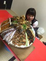 画像: 人生最大のメガ盛り丼☆