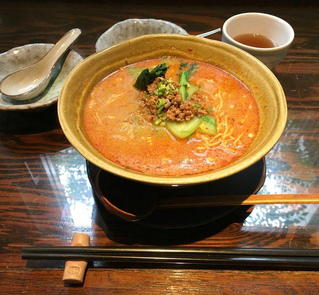 画像: 代官山の担々麺