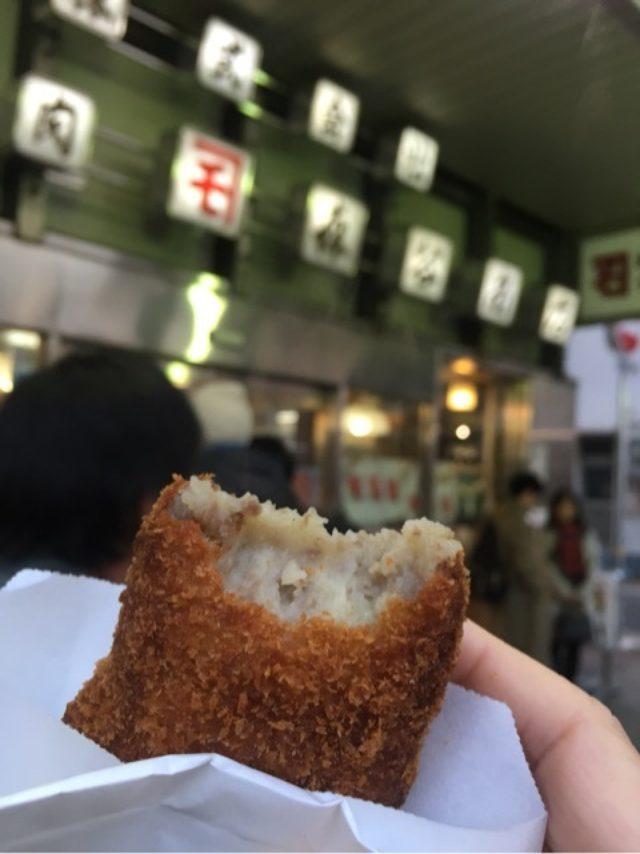 画像: 神戸 森谷商店の行列のできるコロッケ店!