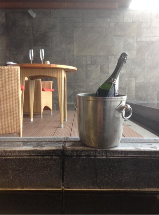 画像: 甲信越、早春ふたり旅(3)続、赤倉観光ホテル の温泉露天風呂付テラスルーム