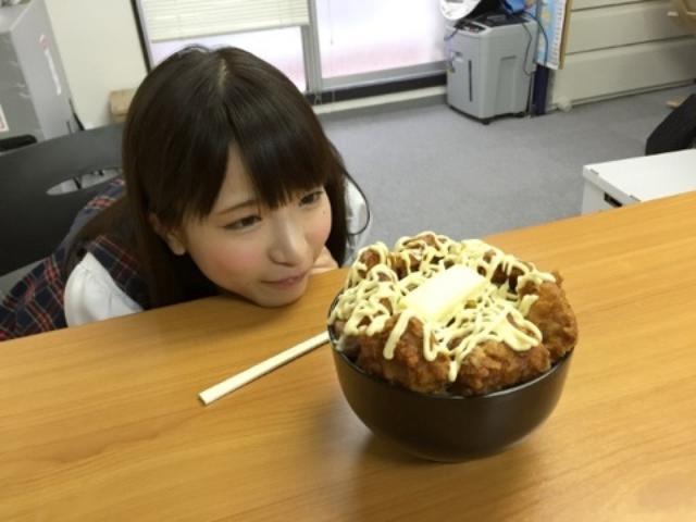 画像: ごま油マヨ牛丼に挑む☆