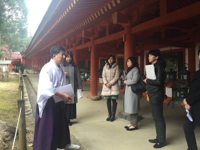 画像: 「奈良の歴史と酒を味わうプレスツアー」ガイド