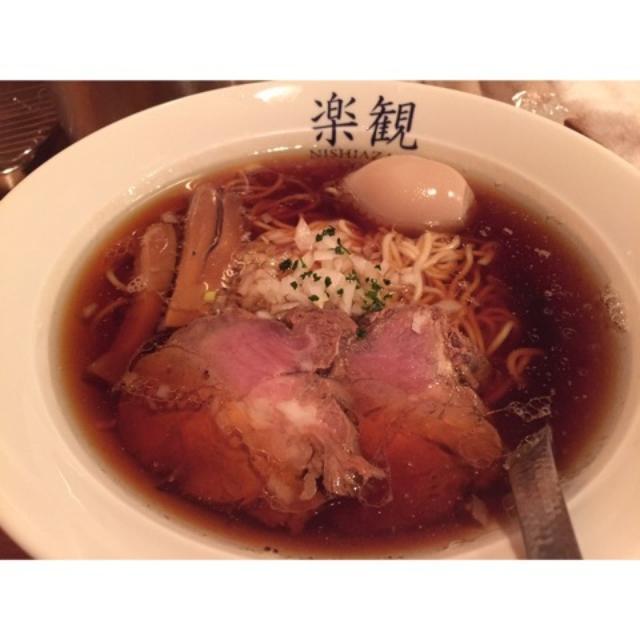 画像: 麺だらけの日 楽観@西麻布