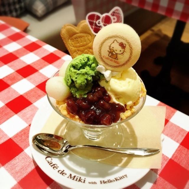 画像: Cafe de Miki by Hello Kity お台場