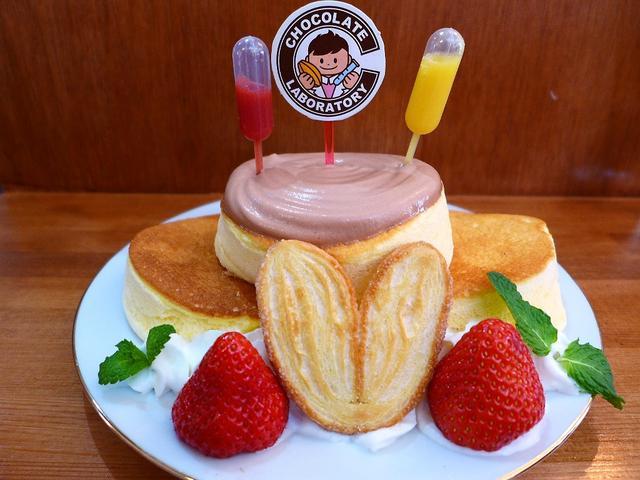 画像1: 西区新町のスイーツのお店「チョコレート研究所」で甘~いおやつをいただきました!私も所属させていただいている、食べ歩きブロガーの集団「たべあるキング」のスイーツ男子、パンケーキの貴公子の「あまいけいき」さん主催のパンケーキ... emunoranchi.com