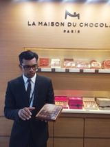 画像: パリ シャルルドゴール空港でのお楽しみ1/ラ・メゾン・ドゥ・ショコラ/パリとわたしvol.11
