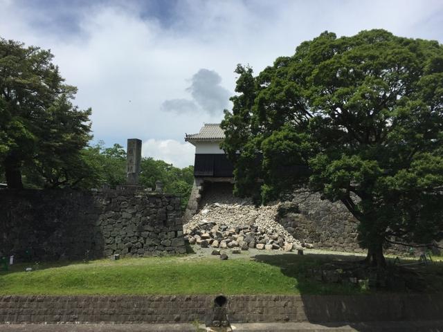 画像: 熊本で見てきたもの。熊本城のこと。