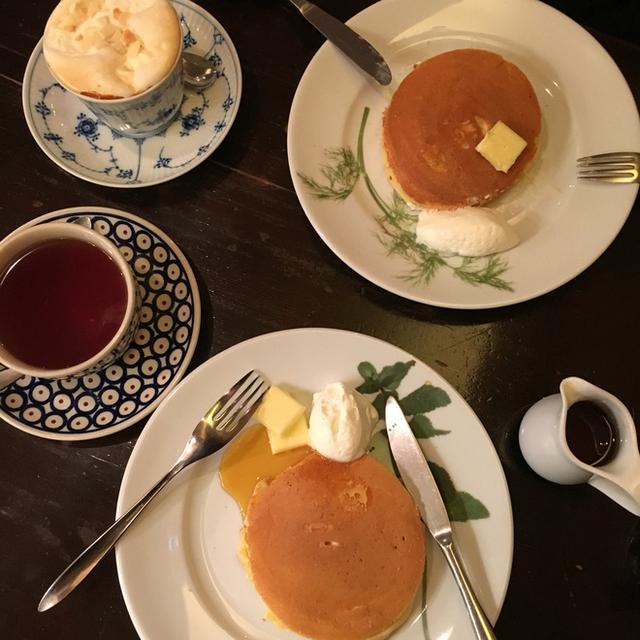 画像: ひろのぶさんと香咲(かさ)のパンケーキ