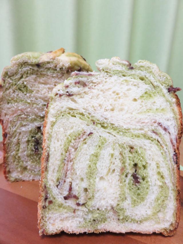 画像: 久留米キムラヤのまるあじとハートブレッドアンティークのあん食♪