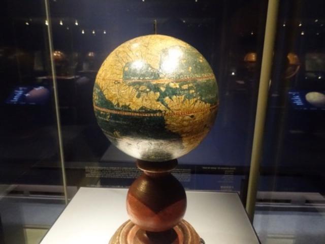 画像: 3D体感⭐︎宇宙に浮いてる感じ〜地球儀・天球儀 展示@ 大日本印刷さんへ(五反田)