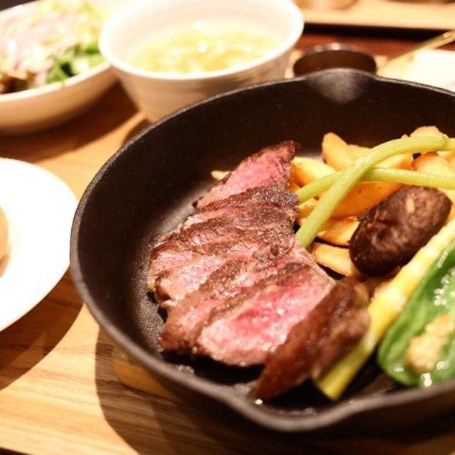 画像: 人が人を呼ぶ魅力/渋谷ビストロ・イル・ド・レ「黒毛和牛ステーキランチ」お値打ちです