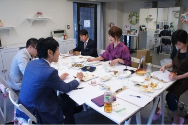 画像: 実食・最終審査「第1回ソイフード レシピコンテスト」会場にて
