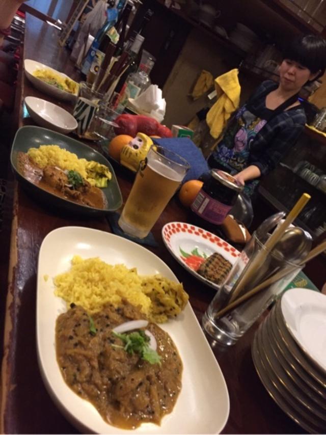 画像: スパイス部活 高円寺2軒目 インド富士子へ行く