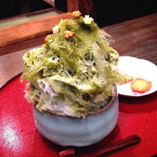 画像: かき氷2015 東京 中目黒 大江戸あられ本舗