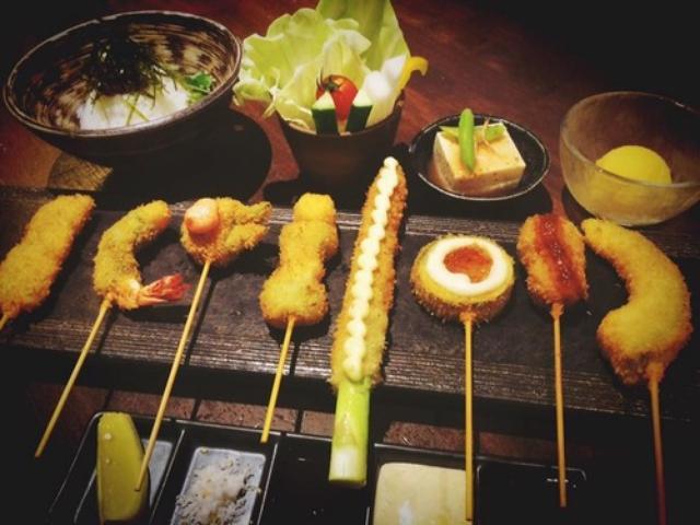 画像: 【福岡】あっさり米油で食べ過ぎちゃう♪@串揚げ ひょうたん 西新店