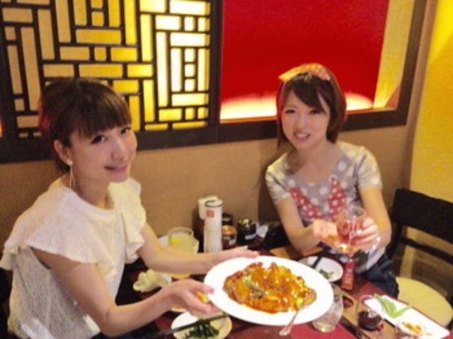 画像: あいのり桃ちゃんと『陳家私菜渋谷店』で激辛女子会そして誕生日会に合流